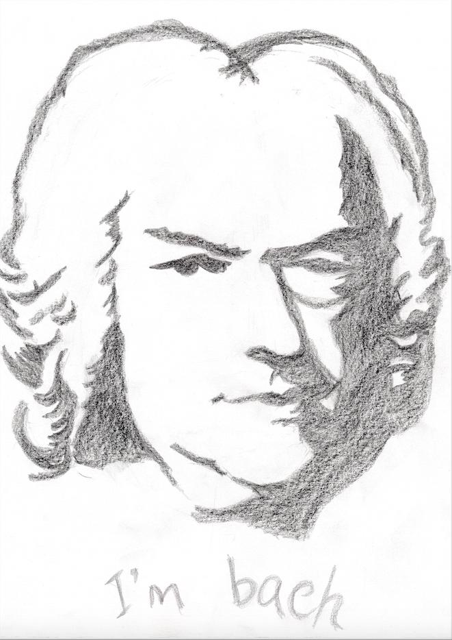 Bach par Anahi