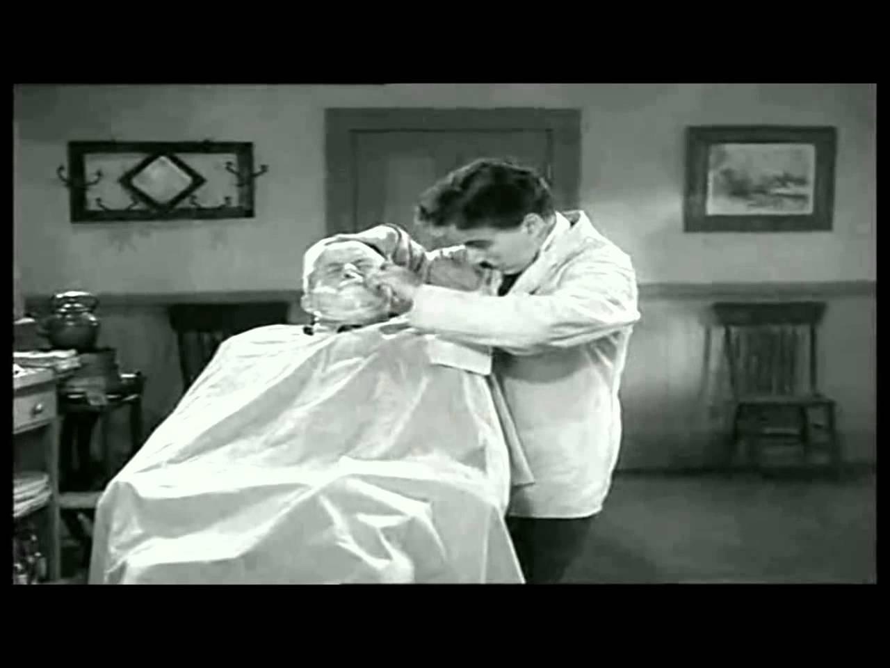 Scène du barbier